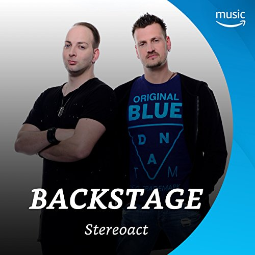 Backstage mit Stereoact