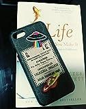 iphone7/8–Uns Schnell Liefern Garantie FBA–Luxus PU Leder GU Fashion Style Schutzhülle für Apple iPhone 7iPhone 8Nur, iPhone7/8, 107 Black Planet