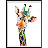 CHshe DIY 5D Giraffe Diamond Painting Kits full Cross Stitch Kit Crystal Rhinestone Embroidery Pictures Arts Craft for Home Wall Decor 25*30