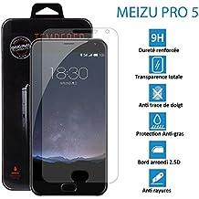 topaccs–Meizu Pro 5–auténtico cristal de protección de pantalla de cristal templado Ultra Resistente–Protección Pantalla