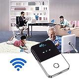 Router da 4 G con slot USIM, compagno di viaggio, Wireless Pocket 4G WiFi Router 100Mbps USB 4G Modem con SIM Card Mini Mobile Hotspot portatile auto LTE Router Support Work 94x58.8x15mm