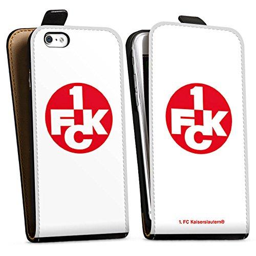 Apple iPhone X Silikon Hülle Case Schutzhülle 1. FC Kaiserslautern Fanartikel Bundesliga Downflip Tasche schwarz