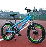 Kids Balance Bike Child Learning Training Cycle Léger 6-13 ans Enfants Garçons...