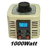 LCD Digital Regeltrafo 1000Watt 4A Ringkerntransformator Stelltrafo Spartrafo Ringkerntrafo Transformator Ringkern Trafo
