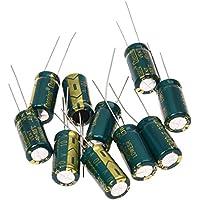Kondensator - TOOGOO(R) 10 Stueck 10V 3300UF Motherboard Elektrolytischer Kondensator Radial