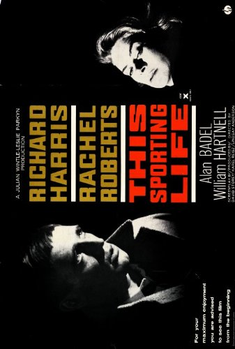 Sporting Life Richard Harris (This Sporting Life Plakat Movie Poster (27 x 40 Inches - 69cm x 102cm) (1963) B)