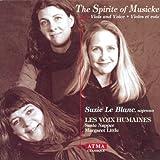 The Spirit of Musicke - Musique de chambre anglaise pour violes & voix [Import USA]