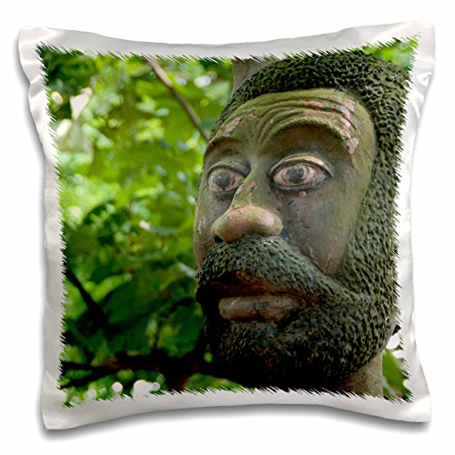 Danita Delimont - Voodoo - Benin, Ouidah. Sacred Forest, voodoo deity-AF03 CMI0052 - Cindy Miller Hopkins - 16x16 inch Pillow Case (pc_76056_1)