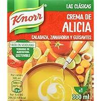 Knorr Las Clásicas Crema de Alicia - Paquete de 12 x 300 ml - Total: 3600 ml