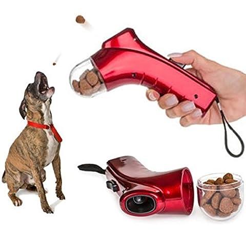 Le Berger - Pistolet lance croquette pour animaux Domestiques