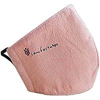 [Rosa] 2 Stück Anti-Staub Mund Maske Baumwolle warme Mund Maske preisvergleich bei billige-tabletten.eu