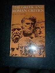 Greek and Roman Critics