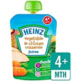 Heinz Veggie Lisse Casserole De Poulet 4 Mths + 100G - Paquet de 6