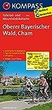 Oberer Bayerischer Wald - Cham: Fahrrad- und Mountainbikekarte. GPS-genau. 1:70000 (KOMPASS-Fahrradkarten Deutschland, Band 3101) -