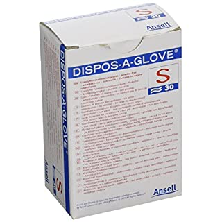 ANSELL DISPOS-A-GLOVE AJP52370 ANSELL DISPOS-A-GLOVE N/S SML (Pack of 30)