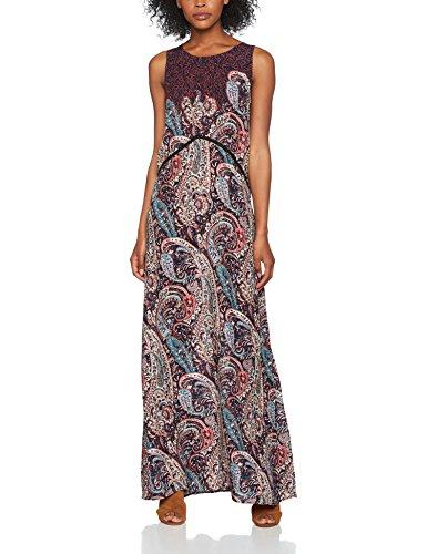 Q2 7317117, Vestido Casual para Mujer, Azul (Índigo), Medium (Tamaño del Fabricante:M)