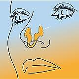 AIRMAX® Sport Nasendilatator - Für eine befreite Nasenatmung beim Sport - spreizt die Nasenflügel - mit Aufbewahrungsdose (2 Stück, Größe S)