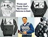 Warm und wohlig Herren Ski Pullover Muster stricken