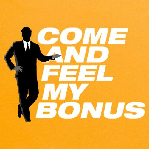 Square Mile Feel My Bonus T-shirt, Uomo Giallo