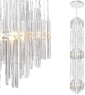 Titania xl 3m lange deckenleuchte deckenlampe leuchte for Lange deckenlampe
