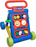Toyshine My First Step Push and Pull Baby Activity Walker, 1-1.5 Years (Blue)