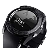 AJO V8 Sports Smartwatch Bluetooth 4.0 Message Push, Sedentary Reminder, Pedometer, Sleep Monitoring