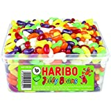 Haribo Jelly Beans Sweets 600 Pieces Full Tub