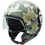 NZI 050298G790 Zeta Che Guevara Camo, Motorradhelm, Größe XS, 54