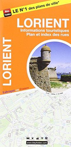 Lorient : 1/10 000, avec livret