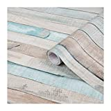 d-c-fix, Folie, deco, Design Rio ocean, pastell Holz, selbstklebend, 45 x 200 cm