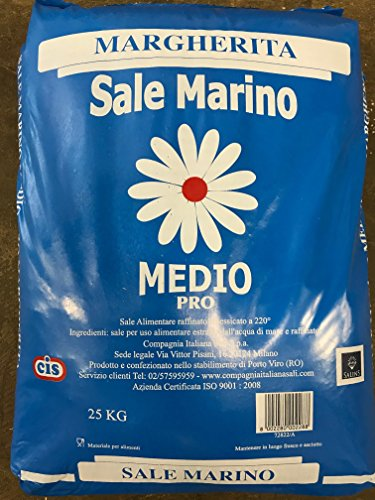 Margherita Sale Marino Mittelmeersalz 25 kg -
