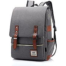 EssVita Casual Escuela Unisex Moda Vintage Mochila Backpack Rucksack Mochila Escolar