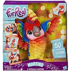 FurRealFriends -Martino, el loro cantarín (Hasbro E0388103)