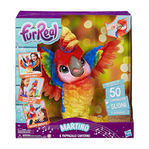 FurReal E0388103 Martian the Parrot, Italian version