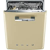 Smeg DI6FABCR Integrated Full-size Dishwasher (Cream)