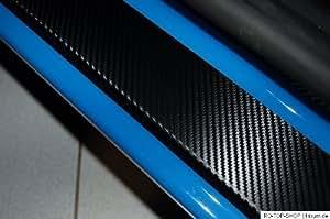 Entrée Leisten Protection Mercedes Classe V (w447) en carbone Film Noir 160µm Stark