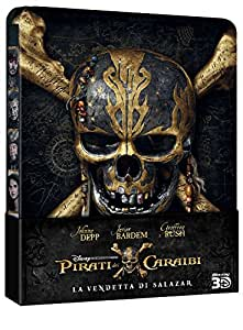 Pirati dei Caraibi: La vendetta di Salazar (Blu-Ray 3D + 2D Steelbook);Pirates Of The Caribbean - Dead Men Tell No Tales