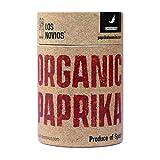 Pimentón Ecológico Picante 60 g - Paprika Los Novios Organic Gourmet: cultivado y envasado en España (ES-ECO-024) (Picante)