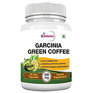 St.Botanica Garcinia Green Coffee Bean Extract - 90 Capsules