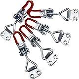 5x Einstellbare Schlösser Kniehebelspanner Verriegelung Set 100KG/220lbs
