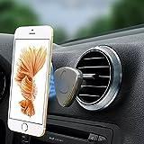 XFAY Magnet Handyhalterung Auto Halterung Lüftung Universal KFZ Halter für iPhone 6S/6Plus /6/5S ,Samsung Galaxy S6/S5, Galaxy Note 4/3 und jedes andere Smartphone oder GPS-Gerät ( Grau )