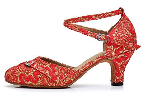 TDA , Sandales Compensées femme 6cm Heel Black