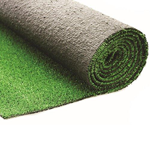 Evergreen Rasenteppich Kunstrasen H7mm Trockenlegung begehbar 1x 25Mt