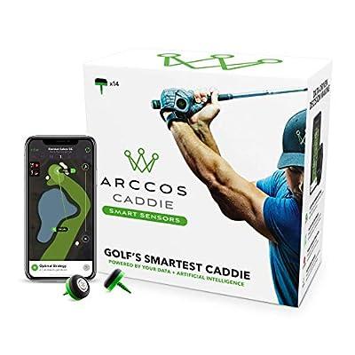 Arccos Caddie sensores Inteligentes