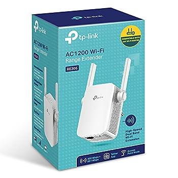 Tp-link Re305 Ac1200 Wlan Repeater (Dual Wlan Ac+n, 1167 Mbits, App Steuerung, 1 Port, 2x Flexible Externe Antennen, Wps, Ap Modus, Kompatibel Zu Allen Wlan Geräten) Weiß 3