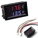 Voltmeter Amperemeter Dual Digital Volt Amp Meter Messgerät 100V 10A