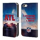 Officiel NFL Stade De Mercedes-Benz Atlanta 2019 Super Bowl LIII Étui Coque De Livre...