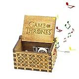 Nice Home 247 Caja Musical de Madera Tallada con manivela y grabada a...