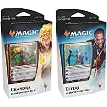 Magic The Gathering mtg-dom-pd-en dominaria Planeswalker Decks Set of 2, Multi Farbe