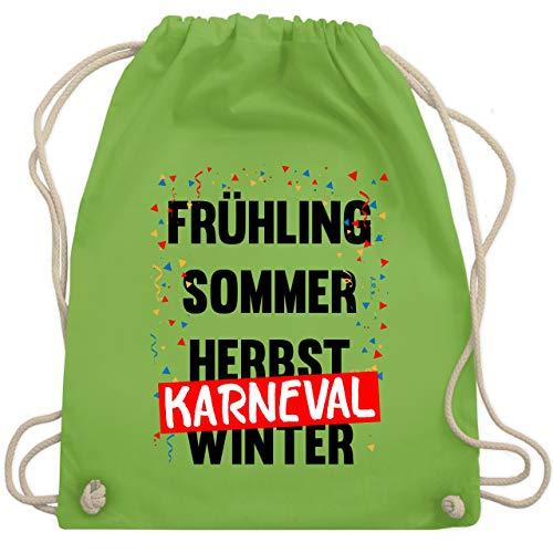 Karneval & Fasching - Frühling, Sommer, Herbst, Karneval, Winter - Karneval Kostüm - Unisize - Hellgrün - WM110 - Turnbeutel & Gym ()